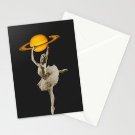 Dance with Saturn Stationery Cards