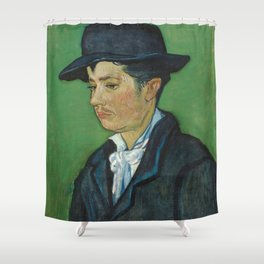 Portrait of Armand Roulin by Vincent van Gogh Shower Curtain