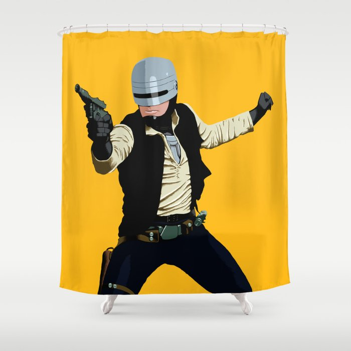 SoloCop Shower Curtain