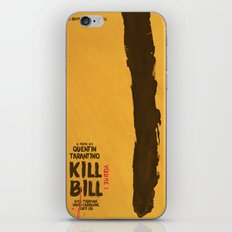 Kill Bill, Tarantino Movie Poster, Alternative, Minimal, Fine Art, Uma Thurman iPhone & iPod Skin