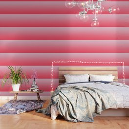 Ombre Pink Rose Gradient Pattern Wallpaper