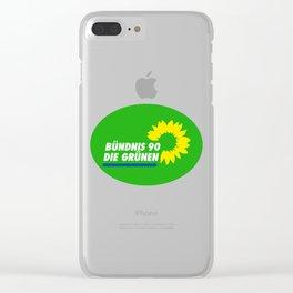 Die Grünen Clear iPhone Case