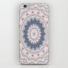 Dreamcatcher Berry & Blue iPhone & iPod Skin