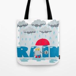 Rain! Tote Bag