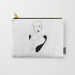 Lined pose Tasche