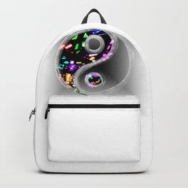 yin yang design Backpack