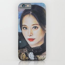 Tzuyu Colour Pencil Drawing Art | Xszone iPhone Case
