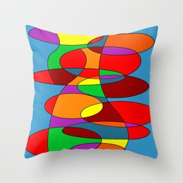 Abstract #22 Throw Pillow