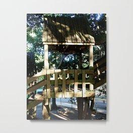 Tree house @ Aguadilla 3 Metal Print