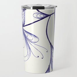 By the Light, of the Silvery Moon Travel Mug