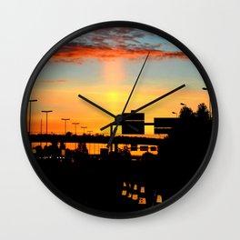 Awakening Light Wall Clock