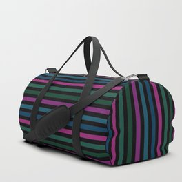 Striped pattern 14 Duffle Bag