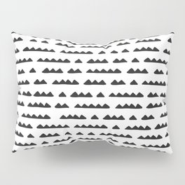 Hand Drawn Pyramids Pillow Sham