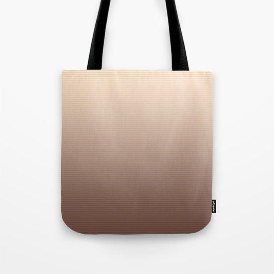 RoseGold Stripes Tote Bag