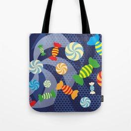 Rainbow Sugar Crush Tote Bag