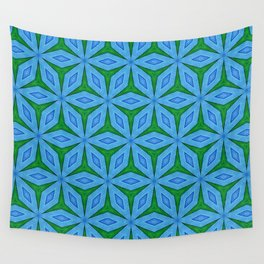 Cold Flowers Pattern Wall Tapestry