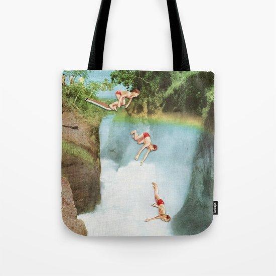 Diving Board Tote Bag