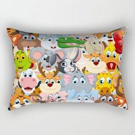 animals zoo Rectangular Pillow