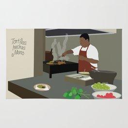 Mexican Tacos Rug