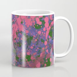 Emotional Pink - Abstract splatter painting Coffee Mug