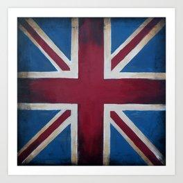 Union Jack Antique Art Print