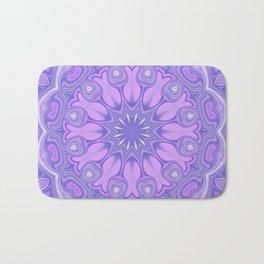 Purple Kaleidoscope Bath Mat
