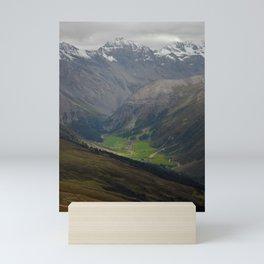 Sertig Valley Mini Art Print