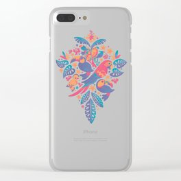 Tropicana II Clear iPhone Case