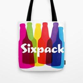 Sixpack Tote Bag