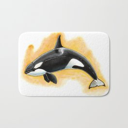 CorkyII - Draw Every Captive Orca Project nr. 1 Bath Mat