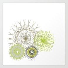 Modern Spiro Art #4 Art Print
