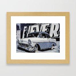1955 Chevrolet Mural Framed Art Print