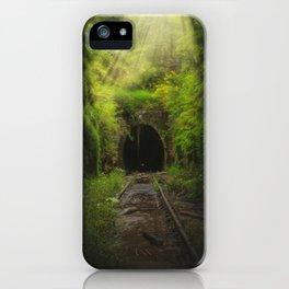 Green Lacuna iPhone Case