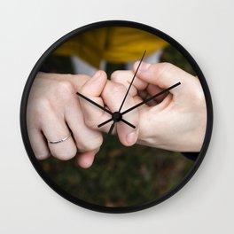 Friend Wall Clock