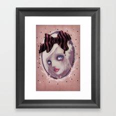 Mascara(de) Framed Art Print