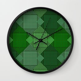 Op Art 102 Wall Clock