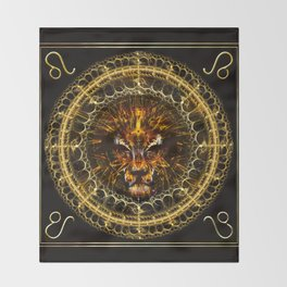 Leo Throw Blanket