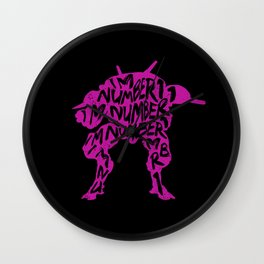 Dva I am number One Wall Clock