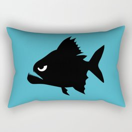 Angry Animals - Piranha Rectangular Pillow