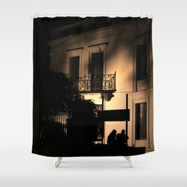 Athens IV Shower Curtain