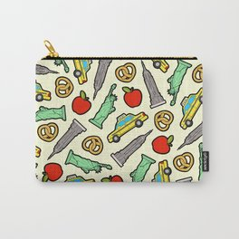 New York, New York Pattern Carry-All Pouch
