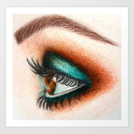 eye II Art Print