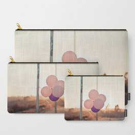 pink + purple Carry-All Pouch