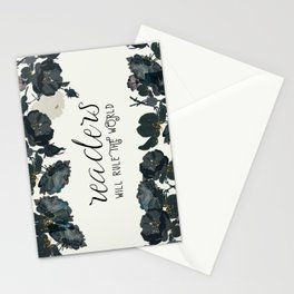 Readers Rule The World Stationery Cards
