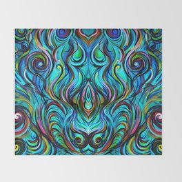 Aquatic Love Thoughts Throw Blanket
