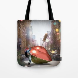 Spinning Top Hipster Tote Bag