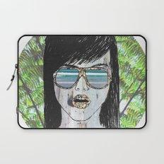 Tropical Zombie  Laptop Sleeve
