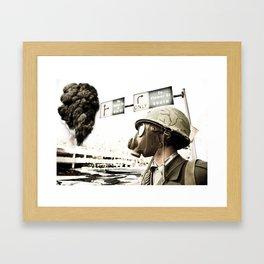 War, War Never Changes Framed Art Print