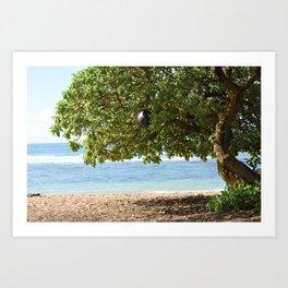 Tree Buoy Art Print