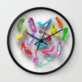 Juicy Shoes Wall Clock